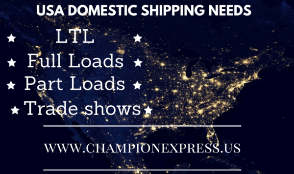 Domestic US freight needs? Champion can do that.